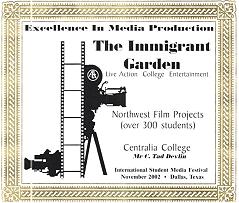 Immigrant Garden Excellence Award